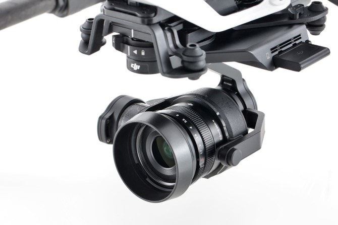 DJI Inspire 2 Camera