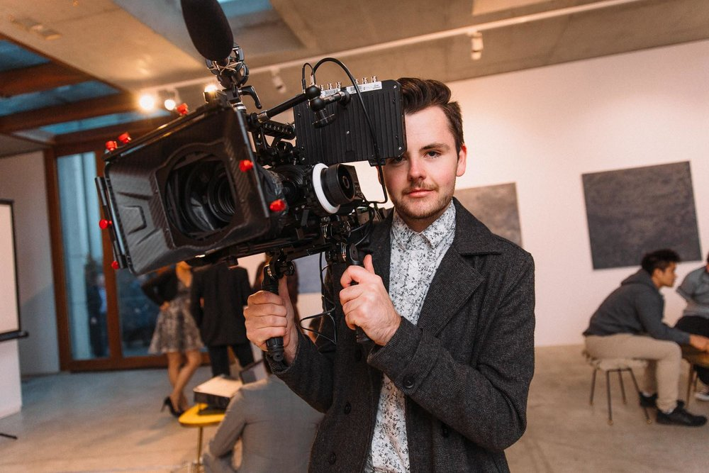Myself with the Sony FS700 in 2016 - Photo by David Beach