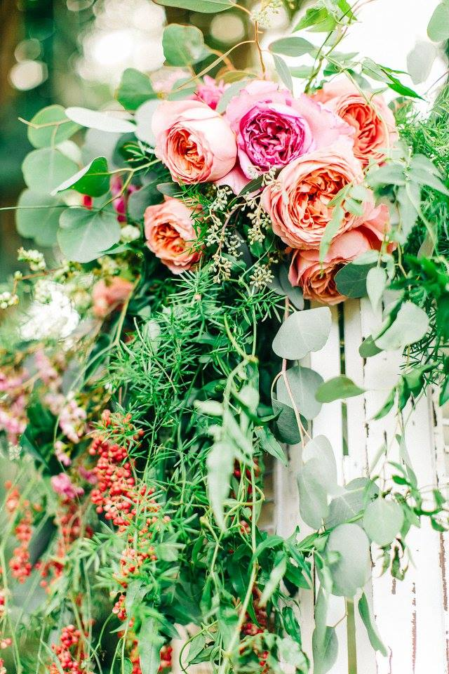 Floral: Flower Farm | Photography: Mary Claire Photography