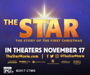 - Are you looking for a family friendly movie to see with the kids? The Star is a great choice. The story of the birth of Jesus is told from the perspective of the animals that witness the event. The film is rated PG, and there may be a few scenes that are scary for the younger family members. You can watch the trailer here:Movie Trailer