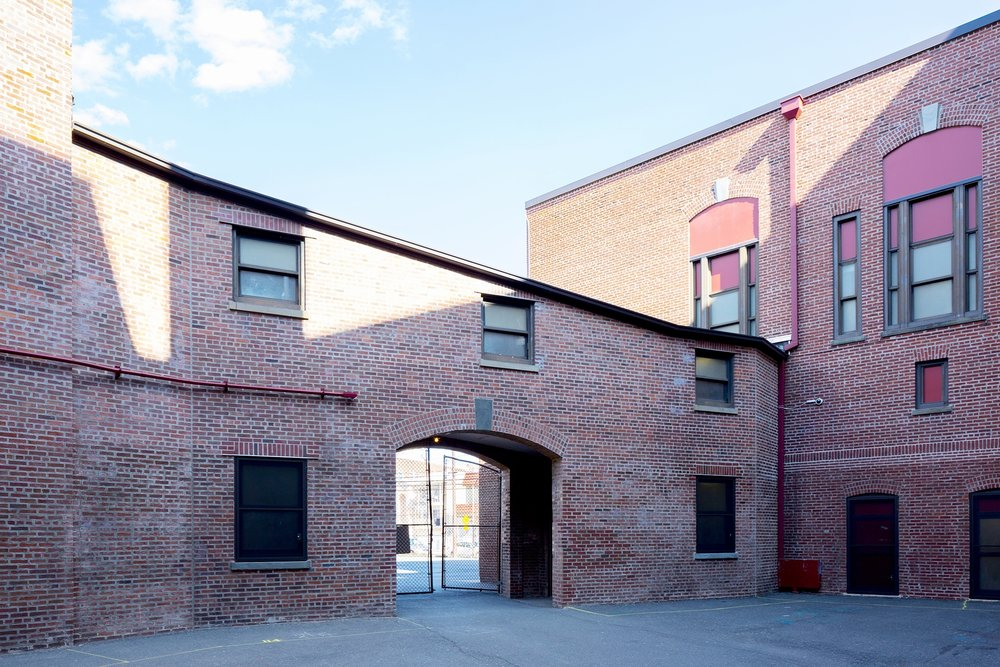 Abington Elementary Courtyard