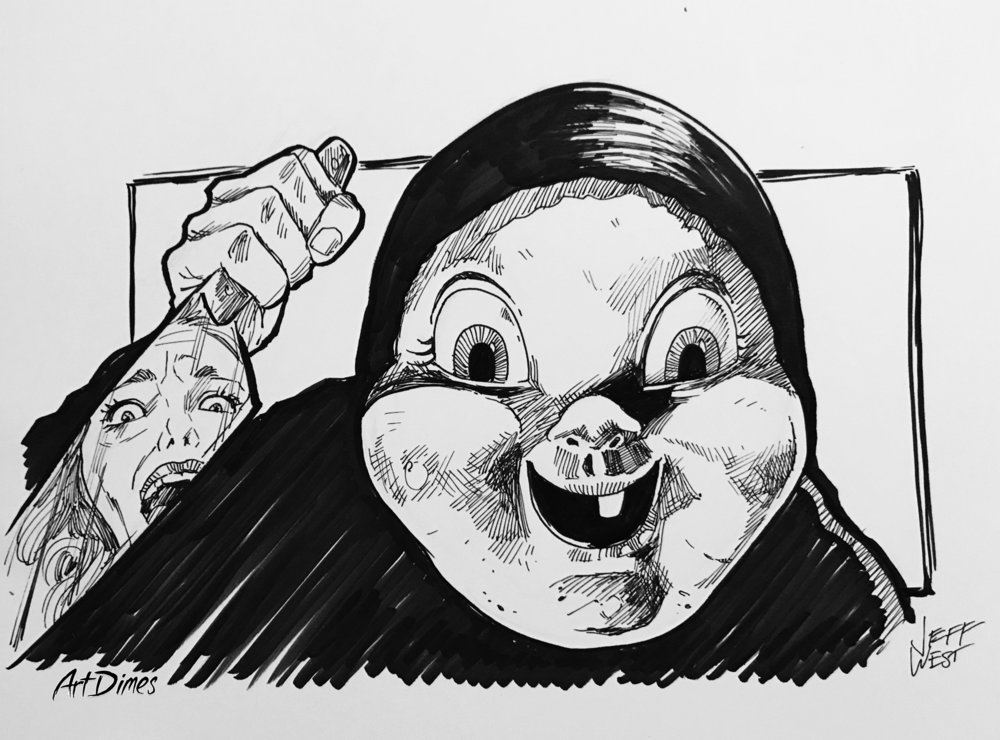Happy Death Day Inktober by Art Dimes.jpg