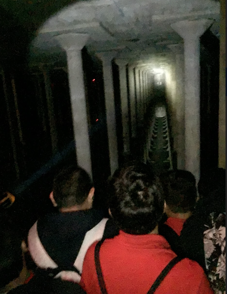 Underground Cisterns at Buffalo Bayou - 7th Grade / Architecture & Urban Design Unit