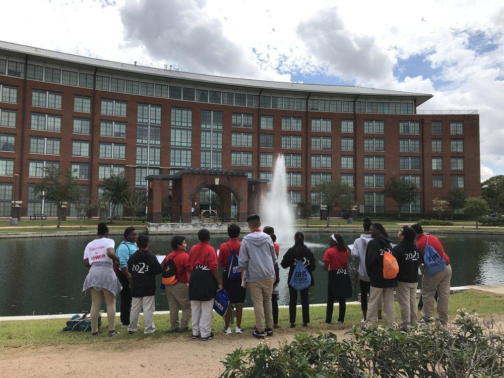 Visiting HBU campus - 7th Grade / Diversity and Biodversity