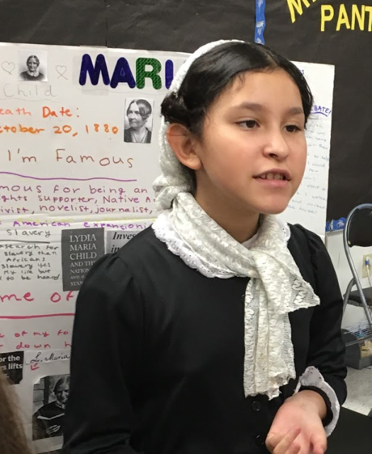 The Still I Rise Wax Museum presented by 5th Grade Students