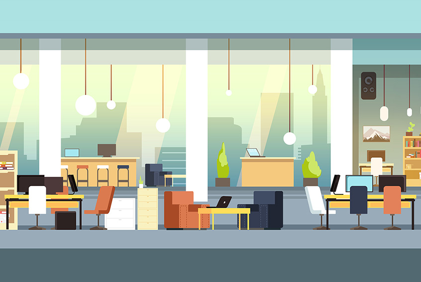 How To Maximise Space In A Small Office Krost Blog