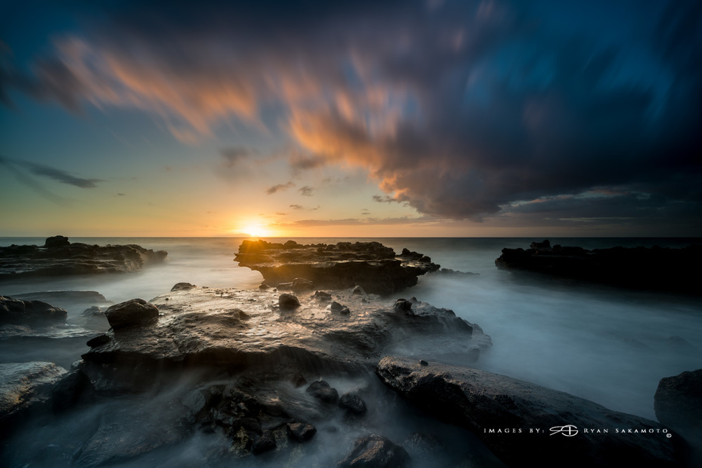 Sandy Beach Sunrise Eastside of Honolulu