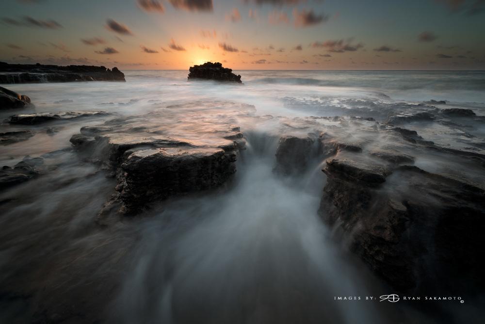 Sunrise at Sandy Beach Honolulu, Hawaii