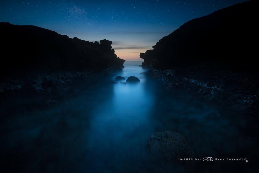 Sandy Beach Park pre dawn. Sony A7S II / Sony Zeiss 16-35 / f/4  242 sec. / f/8 / ISO 50