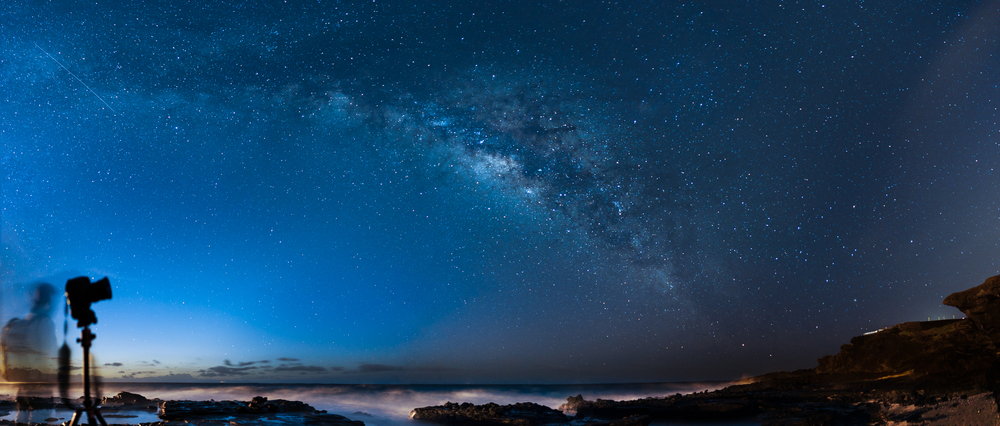 THE MILKY WAY AT SANDY BEACH PARK...03.12.16 10 IMAGE PANO STITCH IN LIGHTROOM / EDITED IN LIGHTROOM & PHOTOSHOP CC 2015   SONY A7S II / ZEISS BATIS 25MM F/2 / 20 SEC. / F/2 / ISO 1600