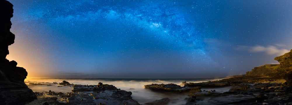 THE MILKY WAY AT SANDY BEACH PARK...03.12.16 12 IMAGE PANO STITCH IN LIGHTROOM / EDITED IN LIGHTROOM & PHOTOSHOP CC 2015 SONY A7S II / ZEISS BATIS 25MM F/2 / 20 SEC. / F/2 / ISO 1600