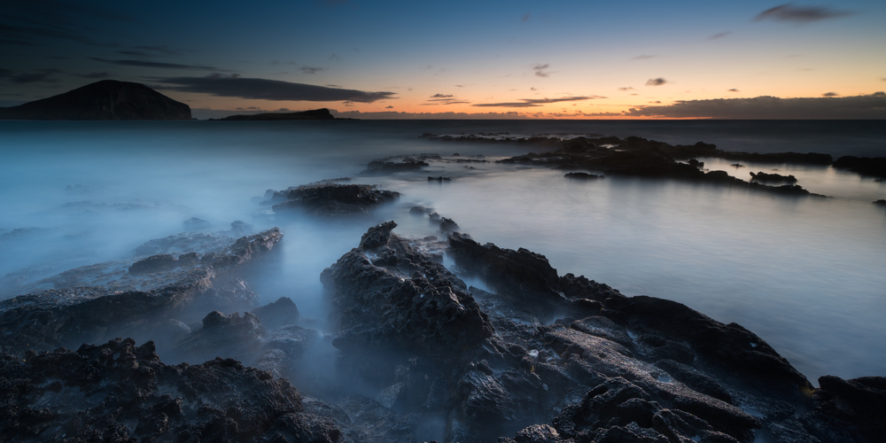 Sunrise at Makapuu Beach Park Oahu, Hawaii Lee filter 3 stop soft grad to darken & bring out the colors of the sky Sony A7S II / 181 sec. / f/8 / ISO 50 Edited in Lightroom & Photoshop CC 2015 Copyright 2016 Ryan Sakamoto, All rights reserverd