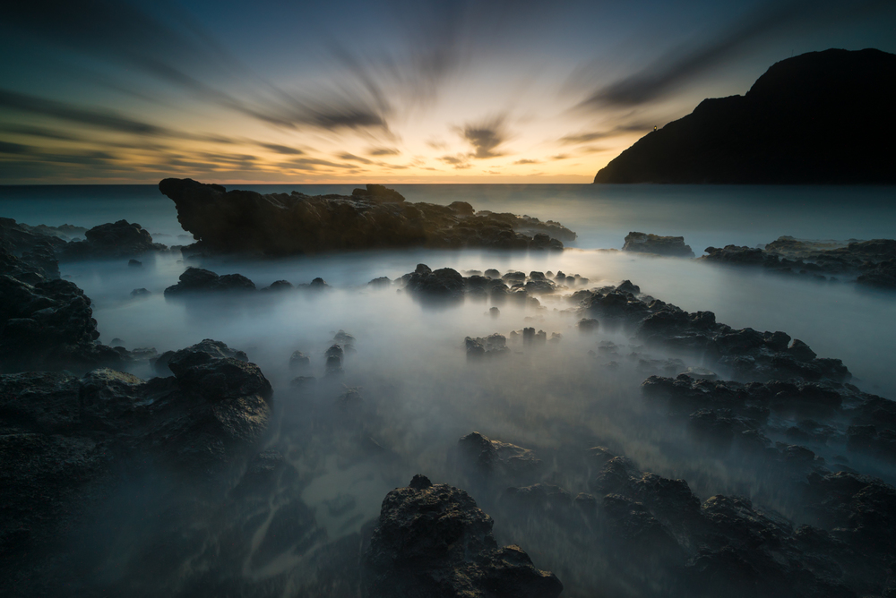 Sunrise at Makapuu Beach Park Oahu,Hawaii Stacked Lee Big Stopper &3 stop hard grad to darken sky Sony A7S II / 181 sec. / f/8 / ISO 200 Edited in Lightroom & Photoshop CC 2015 Copyright 2016 Ryan Sakamoto, All rights reserved