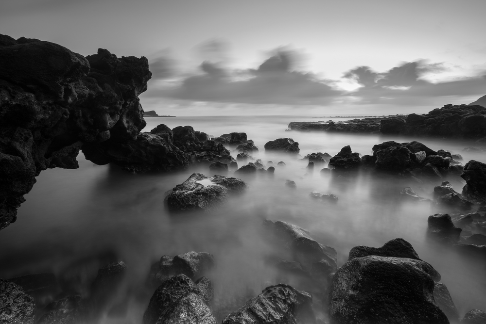 AFTER 121 sec exposure & edits... Sunrise at Makapuu Beach Park Oahu, Hawaii Lee filter stacked Little Stopper & 3 stop soft grad to darken the sky Sony A7S II / 121 sec. / f/11 / ISO 50 Edited in Lightroom & Photoshop CC 2015 Copyright 2016 Ryan Sakamoto, All rights reserverd