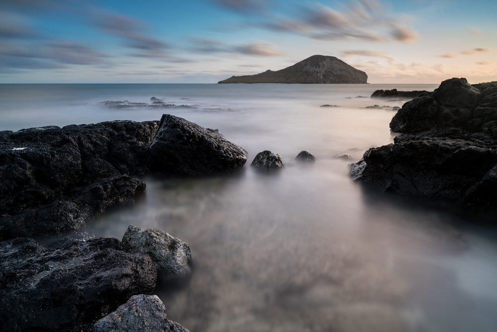Sunrise at Makapuu Beach Park Oahu, Hawaii Stacked Lee Big Stopper &3 stop hard grad Sony A7S II |  181 sec. |  f/8 |  ISO 50  |  Zeiss 25mm f/2 Edited in Lightroom & PhotoshopCC 2015 Copyright 2016 Ryan Sakamoto, All rights reserved