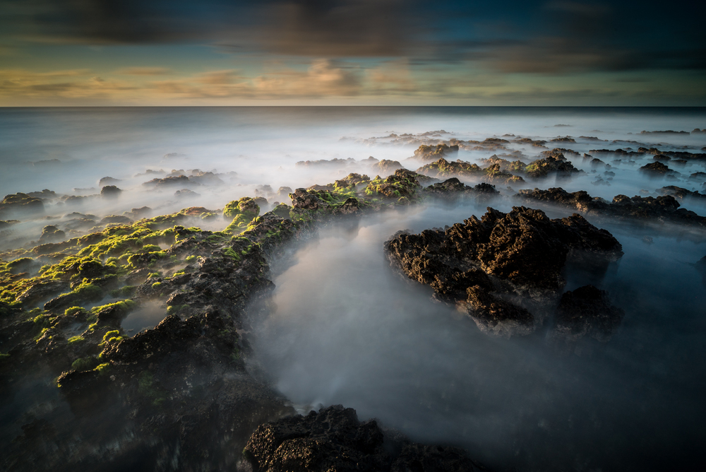 Sunrise at Sandy Beach Park Oahu, Hawaii Stacked Lee Big Stopper &3 stop hard grad Sony A7S II |  121 sec. |  f/16 |  ISO 50  |  Sony 16-35mm @ 16mm Edited in Lightroom & PhotoshopCC 2015 Copyright 2016 Ryan Sakamoto, All rights reserved