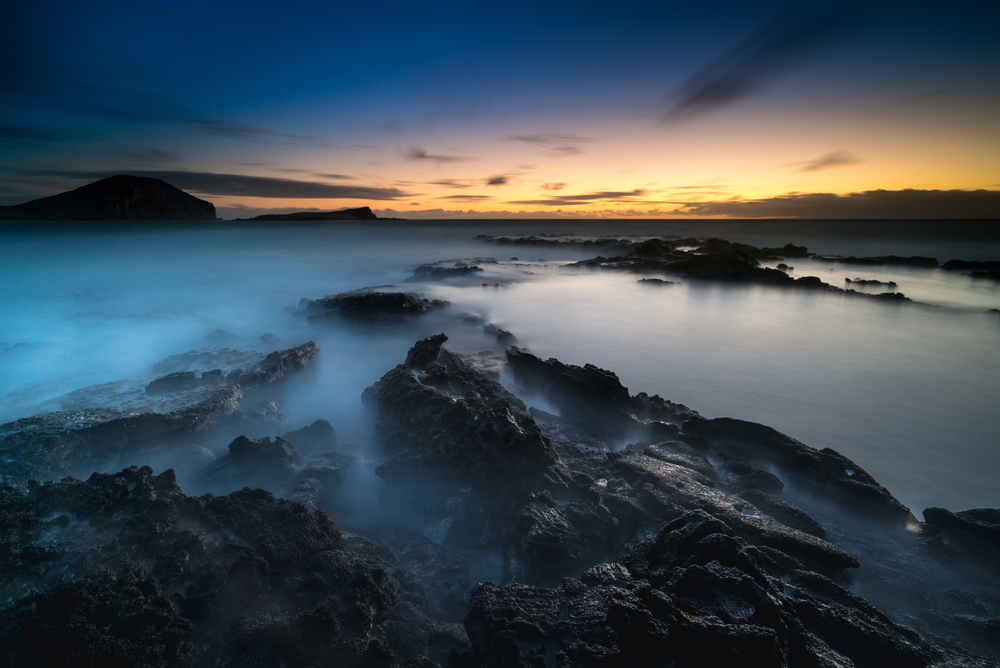 Sunrise at Makapuu Beach Park Oahu, Hawaii Lee filter 3 stop hard grad to darken & bring out the colors of the sky Sony A7S II / 181 sec. / f/8 / ISO 50 Edited in Lightroom CC 2015 Copyright 2016 Ryan Sakamoto, All rights reserverd