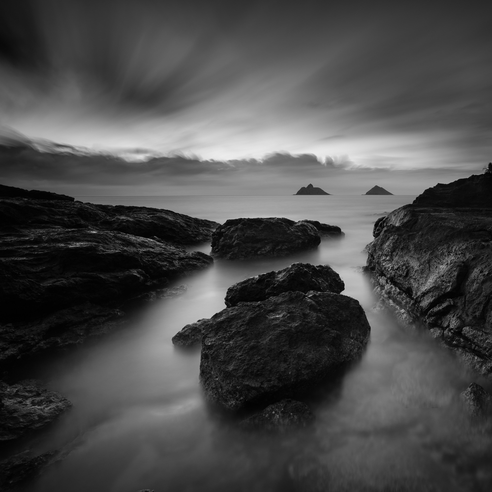 Lanakai, Kailua, Hawaii Stacked Lee Big Stopper & 3 stop med grad Sony A7S II    |    302 sec.    |    f/8   |    ISO 50    |    Zeiss Batis 18mm Edited in Lightroom CC 2015 Copyright 2016 Ryan Sakamoto, All rights reserved