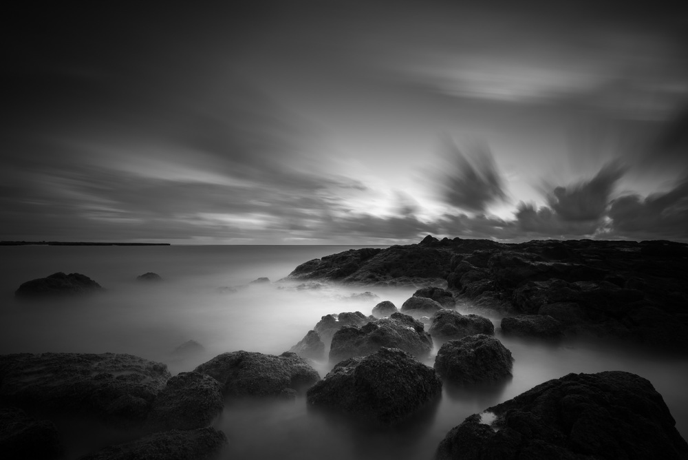 Lanakai,Kailua, Hawaii Sunrise Stacked Lee Big Stopper &3 stop med grad Sony A7S II |  242 sec. |  f/8  |  ISO 50  |  Zeiss Batis 18mm  Edited in Lightroom CC 2015  Copyright 2016 Ryan Sakamoto, All rights reserved
