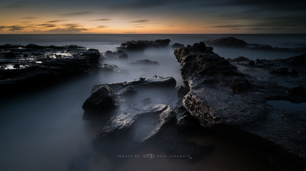 Sunrise Photography Collection...Sandy Beach Sony A7S II    |    242 sec.    |    f/8   |    ISO 400    |    Zeiss Batis 2.8/18mm Edited in Lightroom CC 2015 Copyright 2016 Ryan Sakamoto, All rights reserved