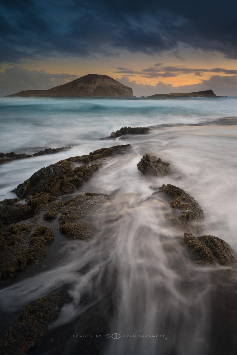 Makapu'u Beach Park Lee Filter Big Stopper & 4 stop medium grad Sony A7S II    |    3.2 sec.    |    f/8   |    ISO 50    |    Zeiss Batis 2.8/18mm Edited in Lightroom & Photoshop CC 2017 Copyright 2016 Ryan Sakamoto, All rights reserved