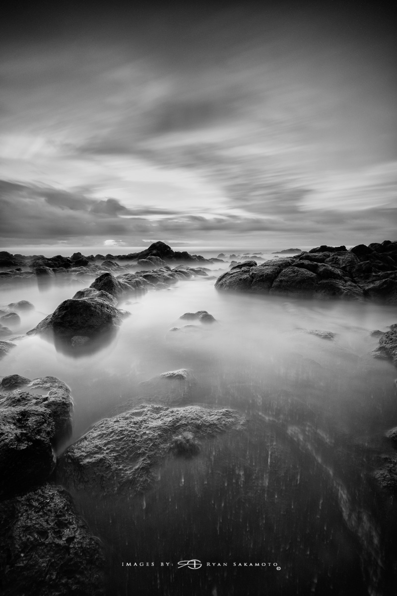 Sunrise from Sandy Beach Park, Honolulu, Hawaii Fuji XT2    |    240 sec.    |    f/8   |   ISO 160 |   Fujinon XF 10-24mm F/4 R OIS Lee Big Stopper, stacked w/4 stop soft GND Edited in Lightroom & Photoshop CC 2017 Copyright 2017 Ryan Sakamoto, All rights reserved