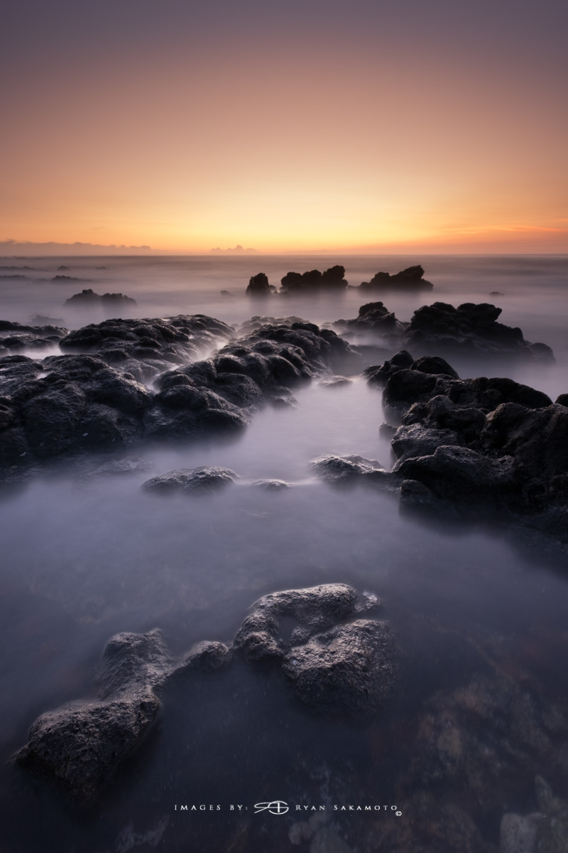 Sunrise from Sandy Beach Park, Honolulu, Hawaii  Fuji XT2  |  120 sec. |  f/8  |  ISO 125 | Fujinon XF 10-25mm F/4 R OIS @11mm   BREAKTHROUGH stacked filters, 3-stop soft 100x150mm GND, 3-stop hard reverse 100x150 Grad & 6-stop 100mm ND  Edited in Lightroom Classic CC Copyright 2017 Ryan Sakamoto, All rights reserved