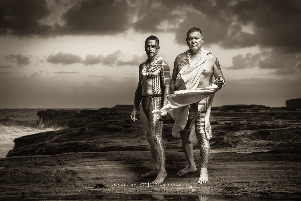 Keone Nunes & Keli'i Makua This shot was originally taken on 5/2/15 Makapu'u Coastline.