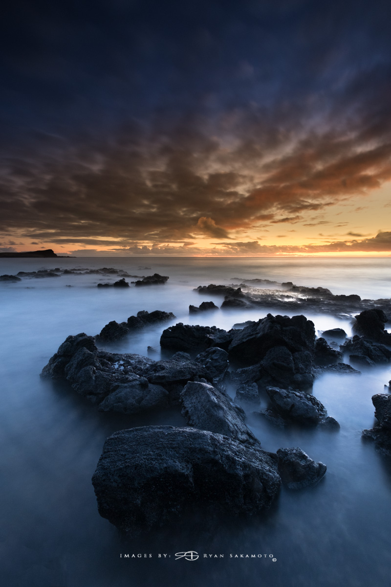 Sunrise from Makapuu Beach Park, Honolulu, Hawaii  Fuji XT2    |    60 sec.    |    f/8   |   ISO 400 |   Fujinon XF 10-25mm F/4 R OIS    BREAKTHROUGH PHOTOGRAPHY stacked filters, 3-stop soft 100x150mm GND, 3-stop hard reverse 100x150 Grad & 6-stop 100mm ND  Edited in Lightroom Classic CC & Photoshop CC 2018 Copyright 2017 Ryan Sakamoto, All rights reserved