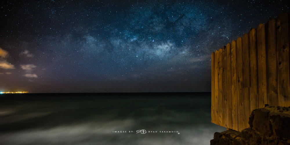 Eastside Milky Way, Hawaii Fine Art, Long Exposure, Milky Way Star Photograph  Sony A7R III    |      20 sec.    |  f/2.8  |   ISO 2500   |     Sony FE 16-35mm GM F/2.8             Edited in Lightroom Classic & Photoshop CC 2018 Copyright 2018 Ryan Sakamoto, All rights reserved