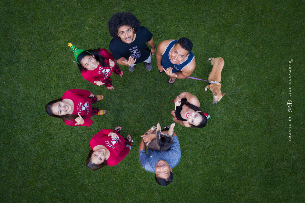 Family Portrait Shoot Shot with a  DJI Mavic Pro 2  Edited in Lightroom Classic & Photoshop CC 2018 Copyright 2018 Ryan Sakamoto, All rights reserved