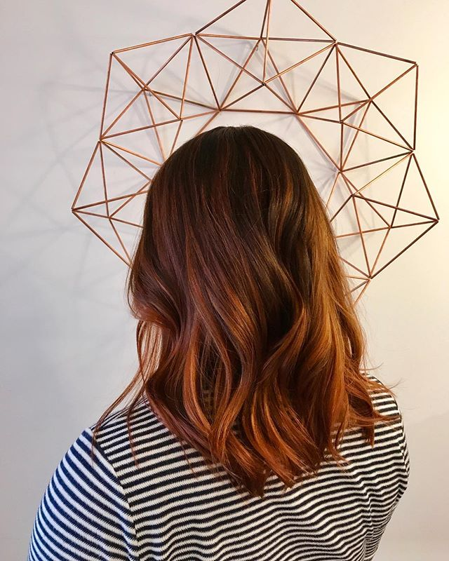 Loving reds this season! Took this client from peach to auburn/Copper🍂🍁 . #copperbalayage #redhair #balayage #balayageombre #balayageandpainted #davinescolor #yyj #yyjhair #yyjstylist #yyjhairstylist #copperandashcollective