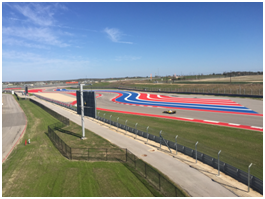 Turns 3, 4 and 5 at Circuit of the Americas