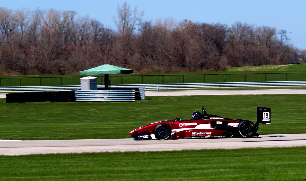 Testing at Autobahn Country Club in Chicago, IL