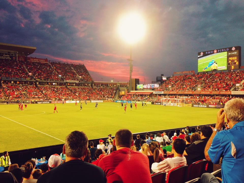 BMO Field. Home of Toronto FC.