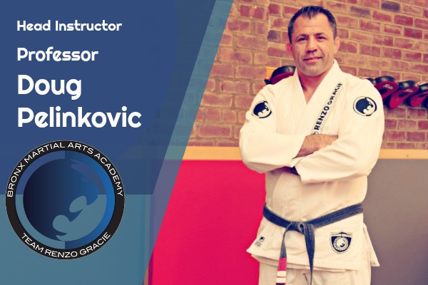 Professor Doug Pelinkovic - Brazilian Jiu-Jitsu Black Belt | Shotokan Karate Black BeltProfessor Doug Pelinkovic, a life-long martial artist, holds a Black Belt in Brazilian Jiu-Jitsu under world-renowned Professor John Danaher. During his eighteen years at the Renzo Gracie Academy in New York City, he has trained with and studied under some of the highest authorities in the sport, members of the Gracie family, and several mixed martial arts fighters and champions.Professor Pelinkovic is also a Black Belt in Shotokan Karate under renowned instructor Shihan Kai Leung. Since earning his Black Belt, Professor Pelinkovic has continued his training with Sensei Adel Elbehiry.A 3rd degree Black Belt in Shotokan Karate, Professor Pelinkovic is a 3-time USA National Team Member, a 4-time national champion, and a multiple-time state and regional champion.