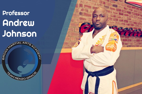 Professor Andrew Johnson - Brazilian Jiu Jitsu Black Belt | ISCA certified level 2 Kickboxing InstructorProfessor Andrew Johnson holds a Black Belt in Brazilian Jiu-Jitsu under Master Renzo Gracie and Professor John Danaher. He is also an ISCA certified level 2 kickboxing instructor and certified by the National Academy for sports medicine for personal training. With a passion for physical fitness, Professor Johnson has helped the young and old in their quest for health and fitness.Professor Johnson truly believes that you will gain a tremendous amount of confidence and sense of fulfillment through the martial arts and fitness. He is very excited to be part of an organization that is so intent on producing leaders both in the martial arts and in the community.