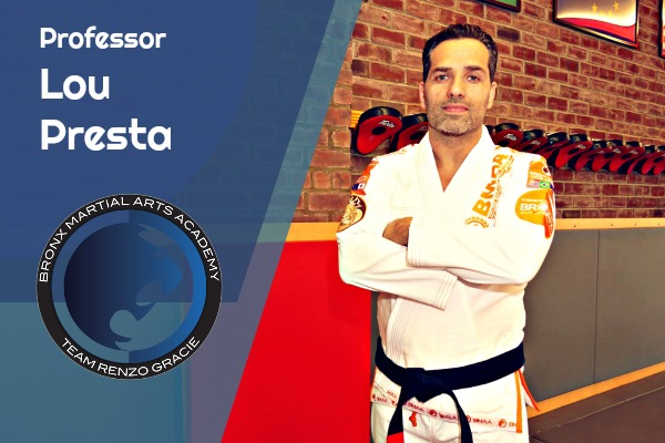 Brazilian Jiu-Jitsu Black Belt    Professor Lou Presta began training Brazilian Jiu-Jitsu in 2003. In 2007, he met Professor Doug through mutual friends and has been training with him ever since. As a Black Belt under Professor Pelinkovic, he stresses the use of leverage and proper technique over strength. He believes the keys to getting better are training hard, training smart, and training consistently.  Off the mat, Professor Presta graduated from Fairleigh Dickinson University with a B.S. in Economics and Finance and works as a Financial Analyst. He's also a WKC certified kettlebell instructor.
