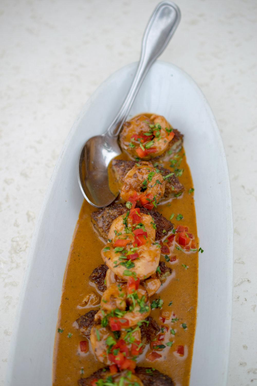 Spicy Shrimp & Eggplant