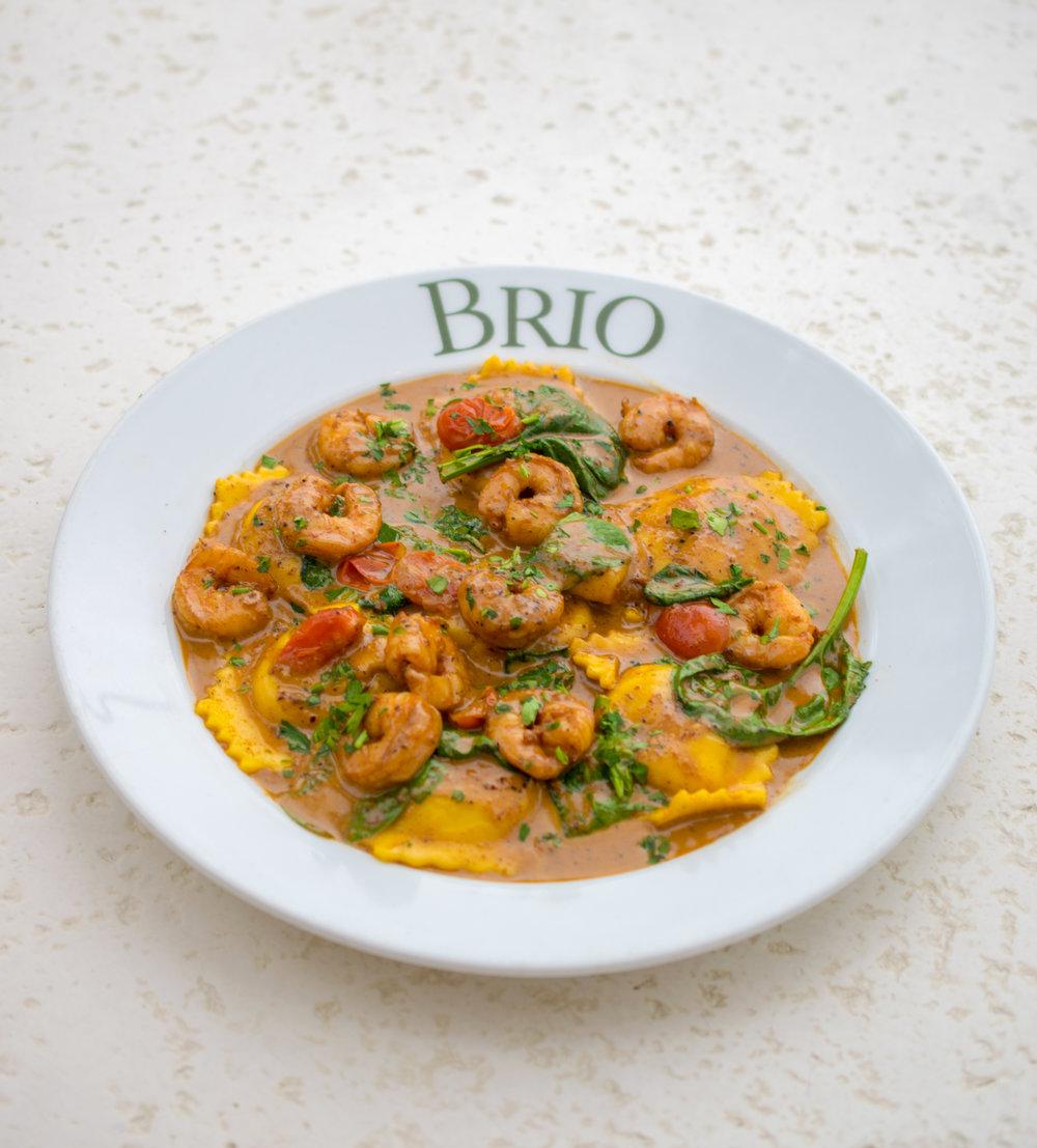 Lobster & Shrimp Ravioli