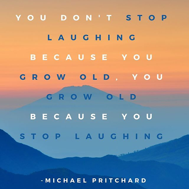 Let's stay young, and stay #laughing ! #laughterheals