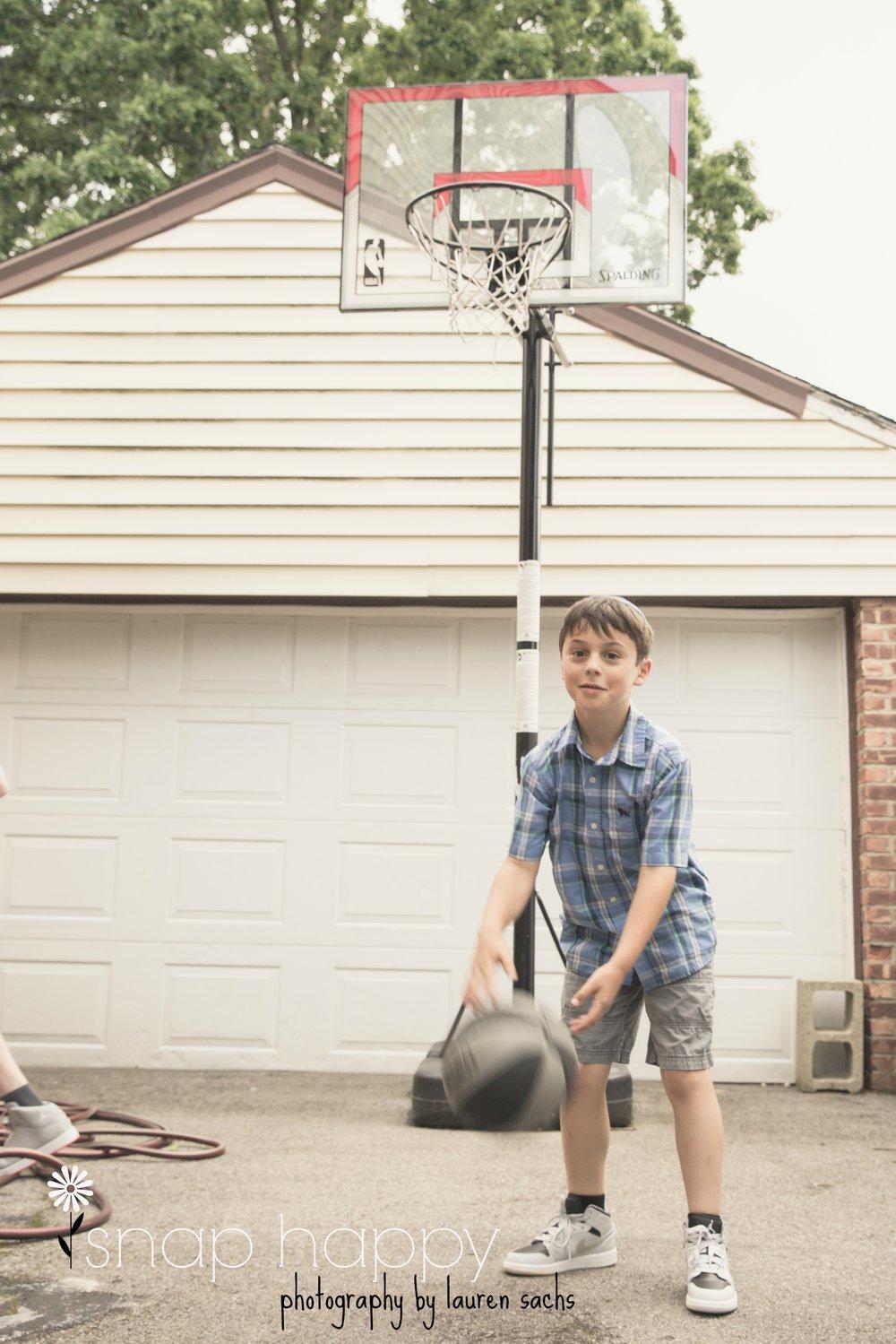 Shootin' hoops. #swoosh -