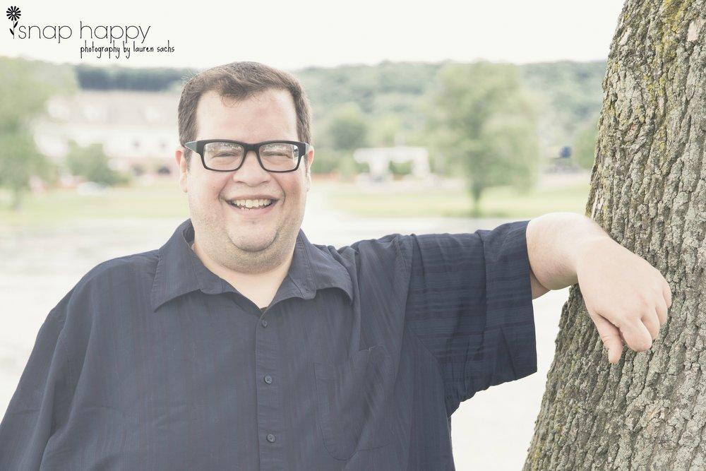 Joe has the greatest smile. :) -