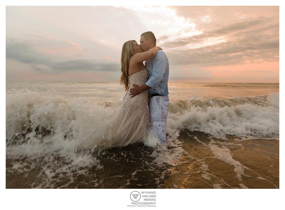 Tyronne and Romandi's Destination Wedding at Sodwana Bay