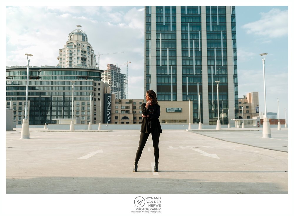 Urban portraits shoot with Dené Vorster