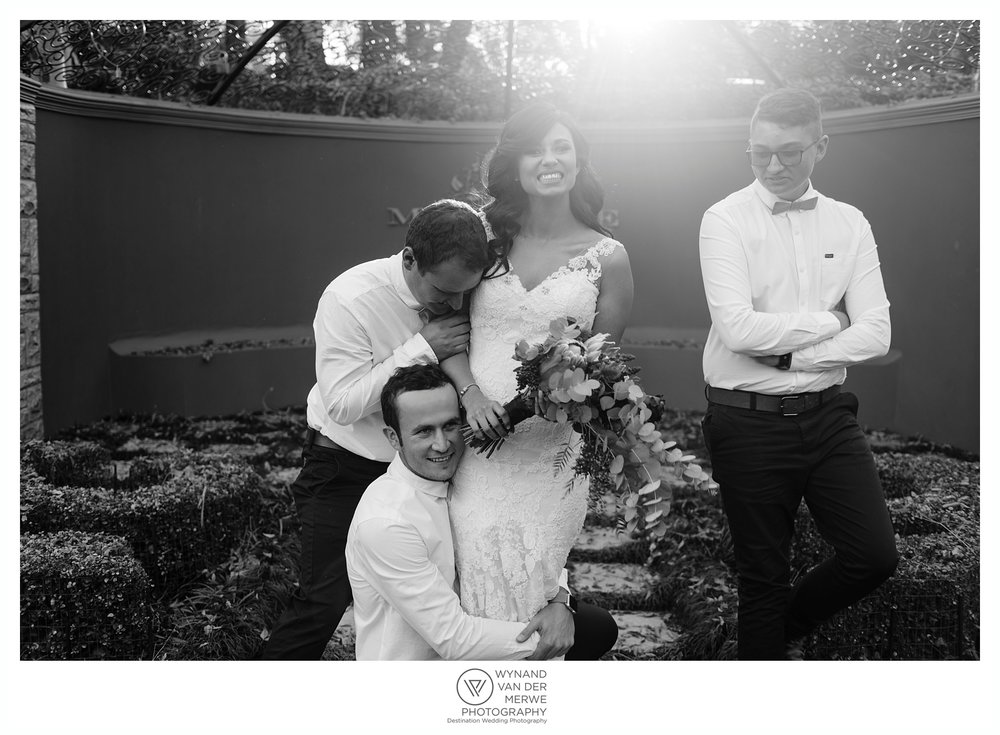 Tertius and Monique's emotional wedding at Memoire Wedding Venue