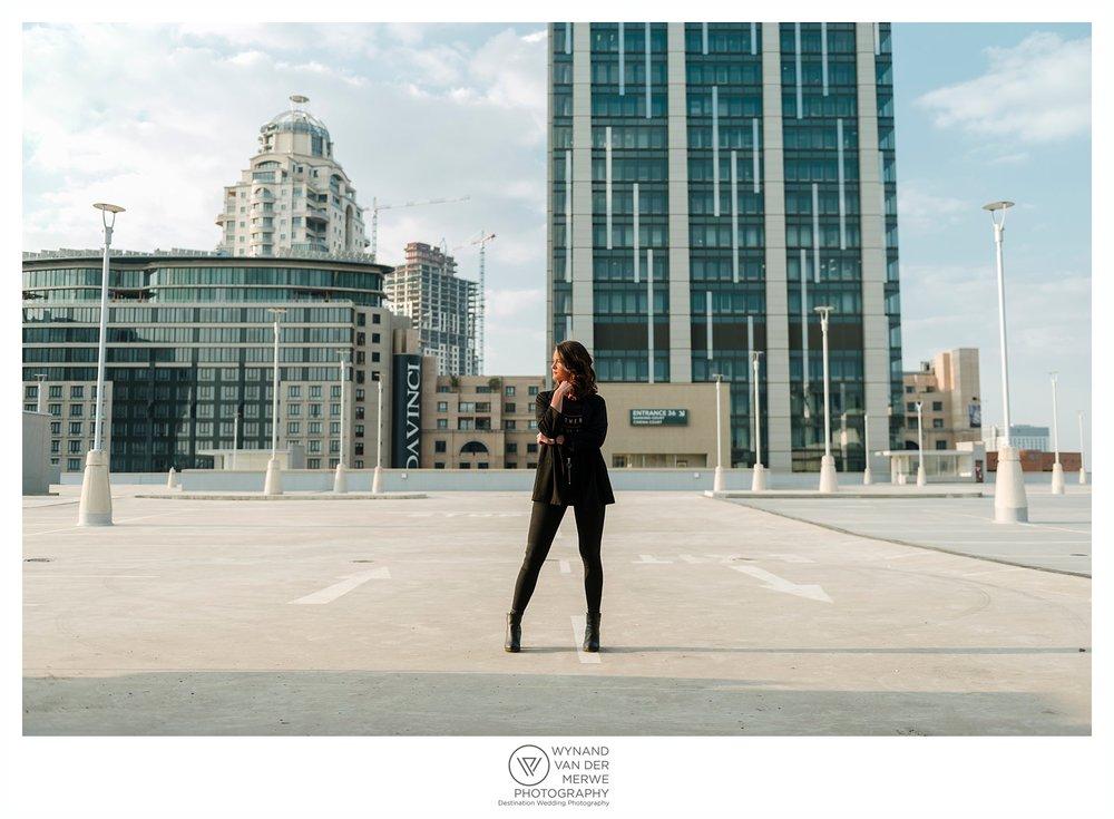 Urban portrait session with Dene Vorster