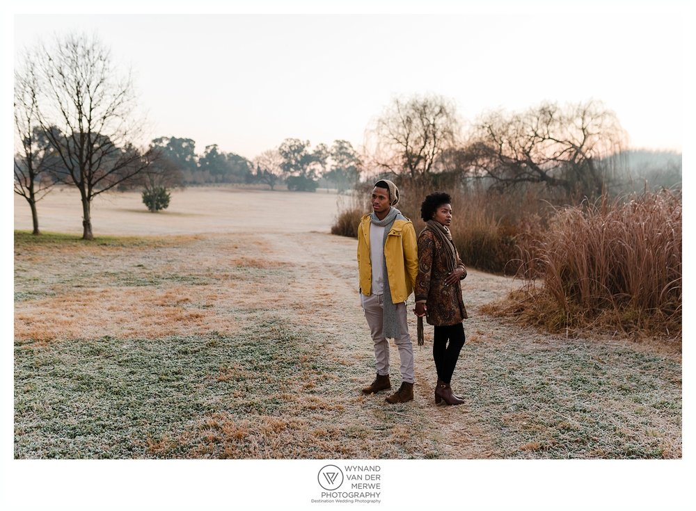 Winter portraits at the Jhb Botanical Gardens
