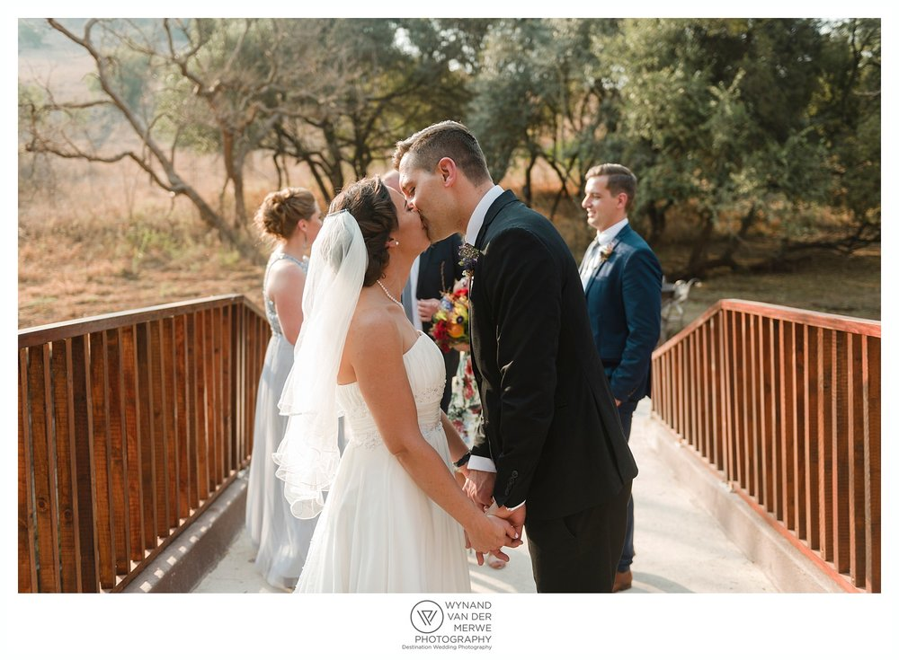 Ziegfried and Renee's wedding at River Place Lodge