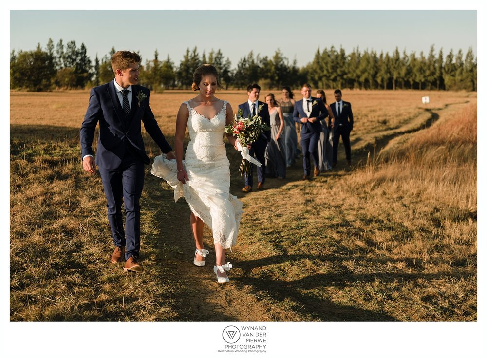 Dane and Ashleigh's wedding at Rosemary Hill